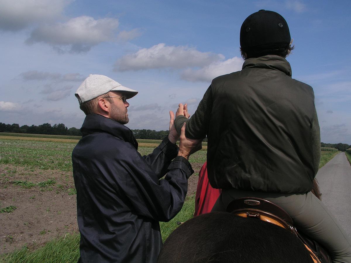 Feldenkrais Einzel auf dem Pferd