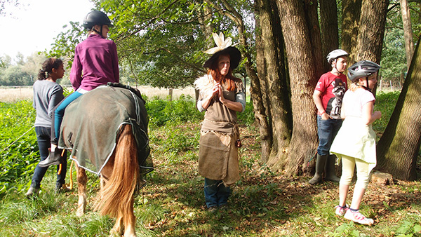 Viele Aufgaben hatte Abraxas der Gruppe gestellt, die Waldhexe half uns...